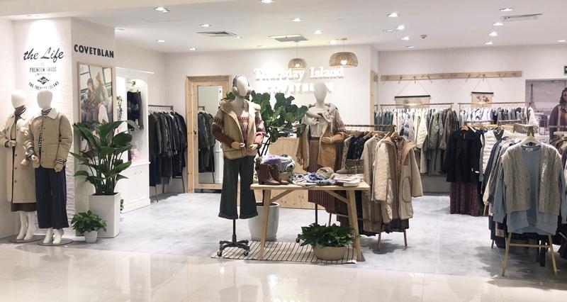 '코벳블랑' 항저우 은태 쇼핑몰