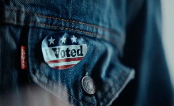 리바이스 'Use Your Vote' 캠페인