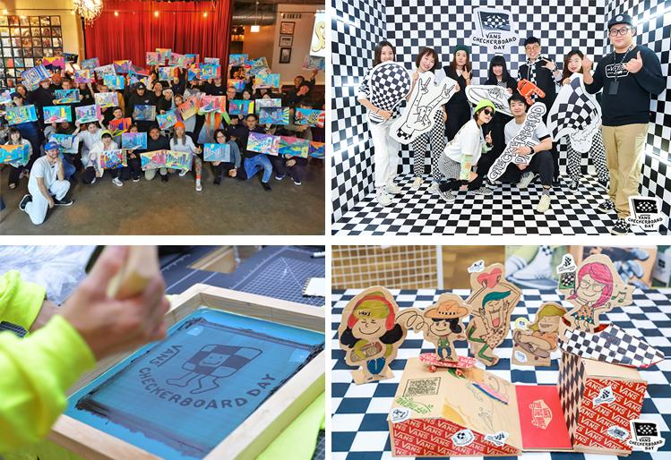 2019년 제1회 반스 체커보드 데이에서 진행된 창의적인 활동