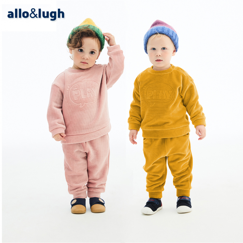 '알로앤루' 따뜻하게 매일 입을래 상하복