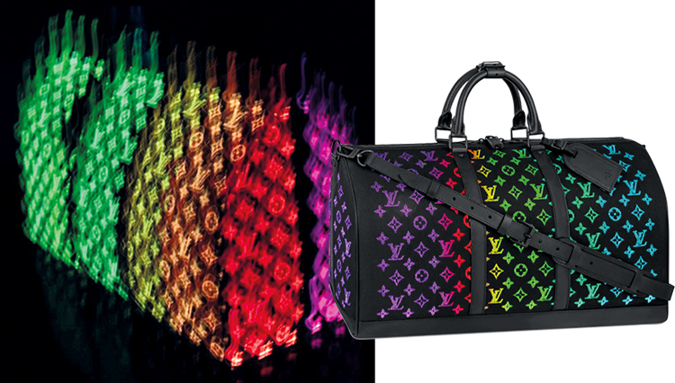 '루이비통' Fiber optic bag