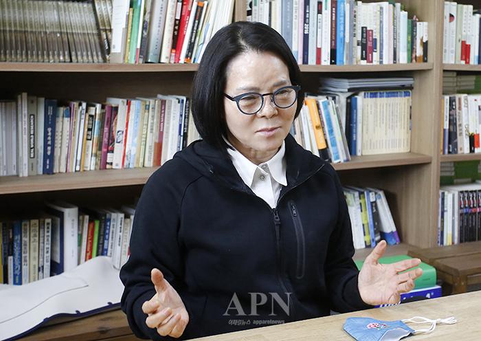 전순옥 소상공인연구원 이사장  /사진=박시형 기자