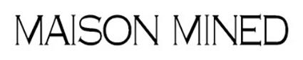'메종미네드' 로고