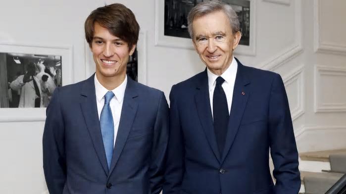 베르나르와 알렉상드르 아르노 부자